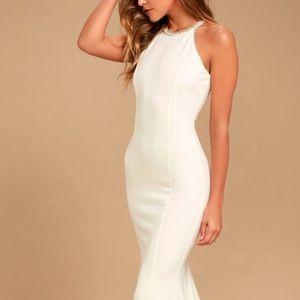 Beige formal dress